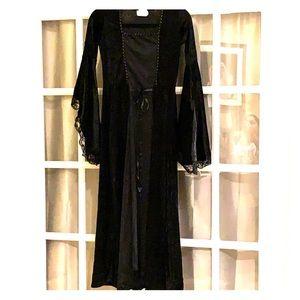 Halloween black dress